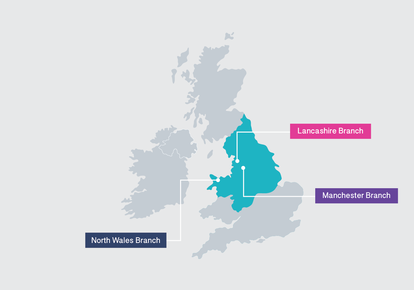 Key Care & Support have 3 branches in the North West of the UK